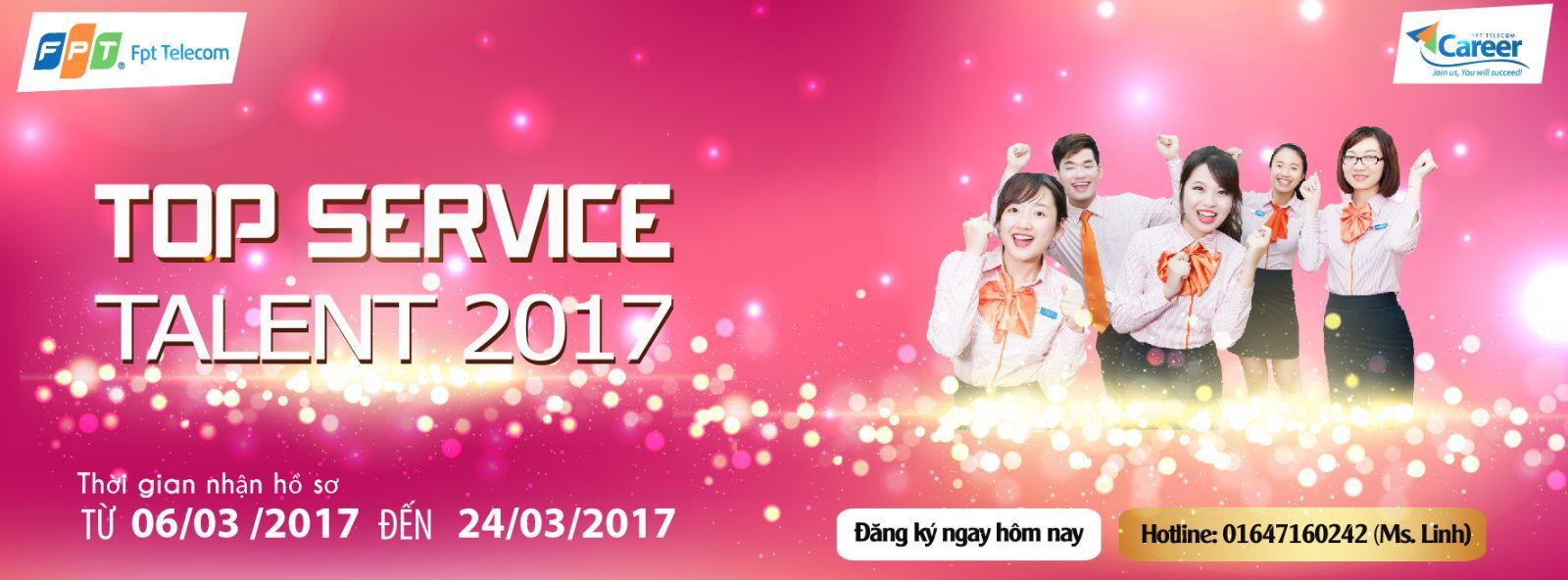 top service talent fpt telecom 2017